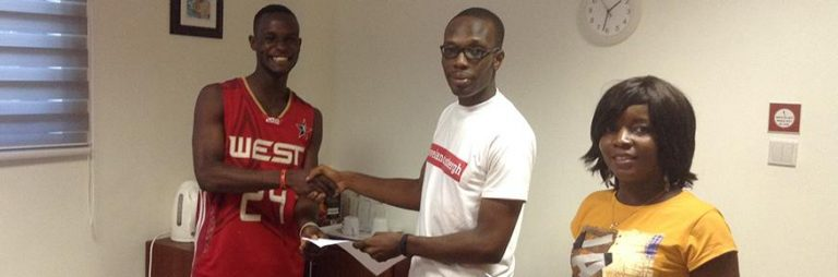 Lancaster University Ghana (LUG) Basketball Recruitment Camp 2015