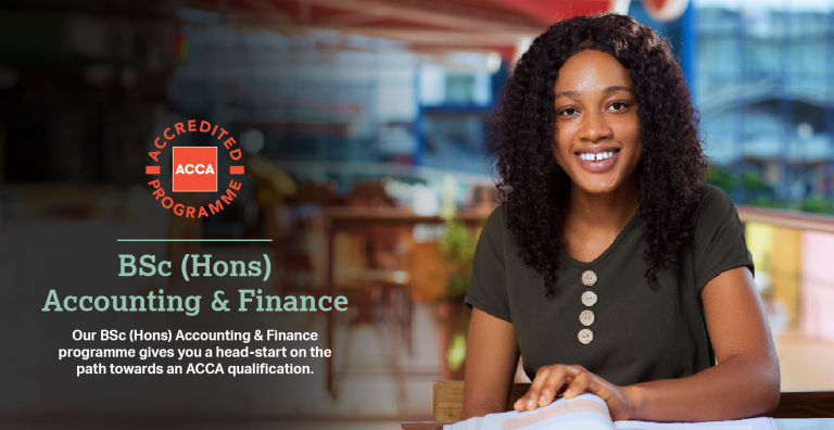 Our Accounting & Finance programme now has ACCA Accreditation