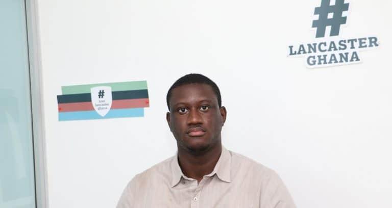 Lancine Conde '21 wins Award at 2021 LU Undergraduate Research Conference