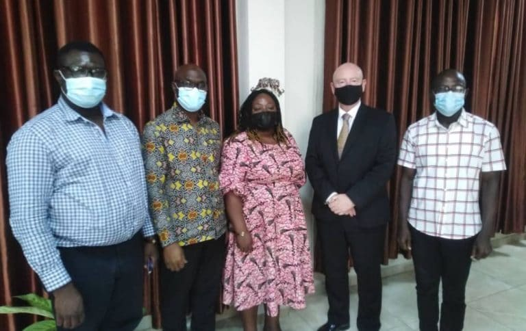 Provost visits Ghana Tertiary Education Commission (GTEC)