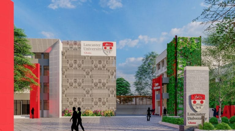 Lancaster University Ghana is relocating to a New Campus in October 2021